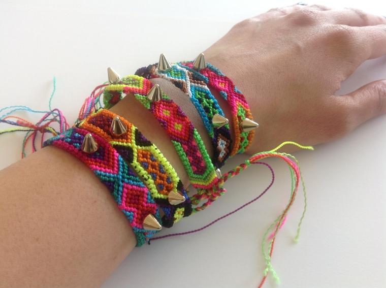 Colors of Mexico Friendship Bracelets